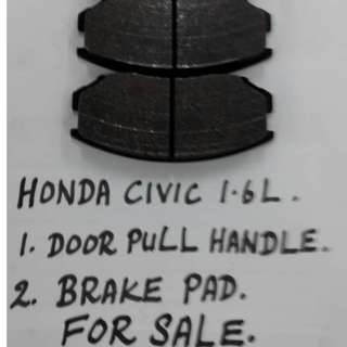 Original Honda Civic 1.6 Brake Pad
