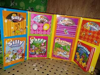 Activity book with 4 cd's