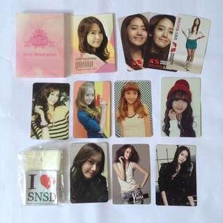 SNSD Yoona official photocard photo card