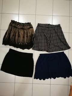 Plus Size preloved skirts. Total 19 pcs.