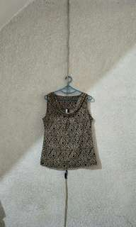 Vise Versa sleeveless blouse L