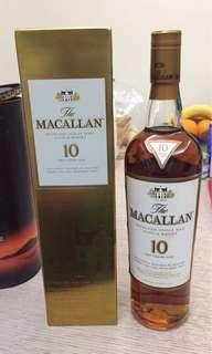最後1⃣️支Macallan 10年