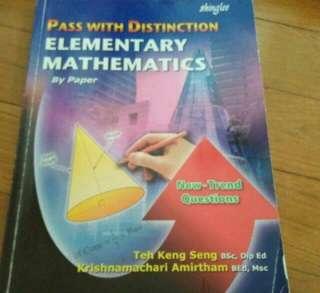 Elementary Maths Assessment book