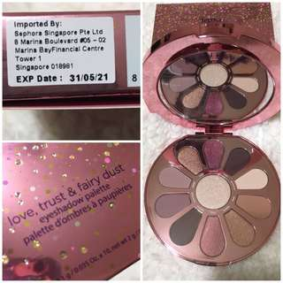 🚚 BNIB AUTHENTIC Tarte Limited-Edition Love, Trust & Fairy Dust Eye & Cheek Palette