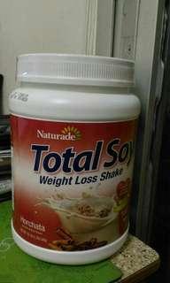 新味 美國直運 Naturade Total Soy大豆代餐粉 飽肚瘦身減肥蛋白粉配搖搖杯 代餐 纖體 雲呢拿味 Meal Replacement Lose Weight Keep Fit 全新