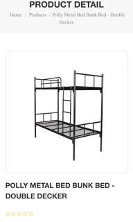Bunk bed for kids/ light adults