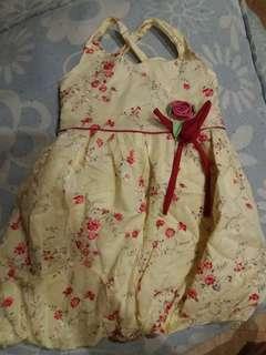 Periwinkle toddler dress