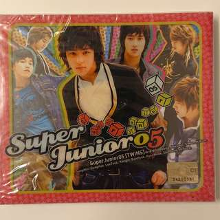 Super junior05 專輯 - Twins