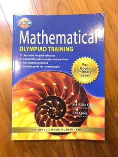 🚚 Maths Olympiad Training for Upper Primary