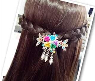 Rhinestone Hairpin