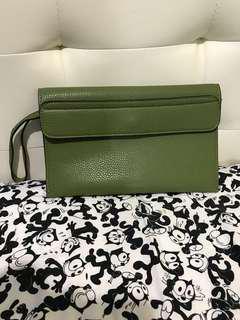 綠色手提包