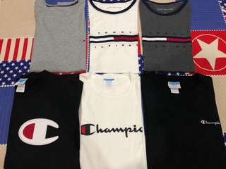 Tommy Hilfiger, Champion