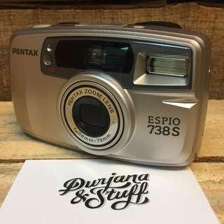 Pentax Espio 738S Film Camera