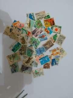 過50張日本舊票