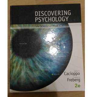 Discovering Psychology. The science of mind