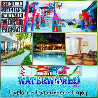 3d2n ILOILO FAMILY PACKAGE WITH WATERWORLD