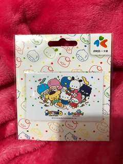 台灣 悠遊卡 iPASS一卡通 Sanrio x WeiWei 《歡樂大集合》一卡通