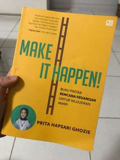 Perencanaan keuangan - make it happen
