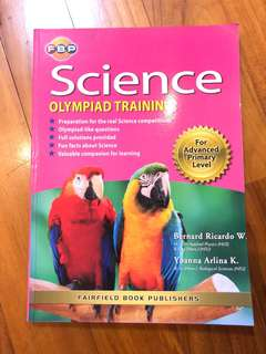 🚚 Science Olympiad Training book