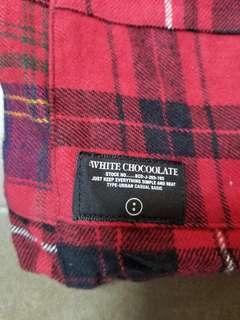 White Chocoolate patchwork 袋