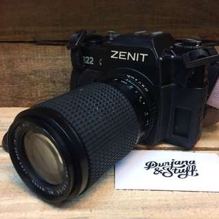 Zenit 122 SLR Film Camera