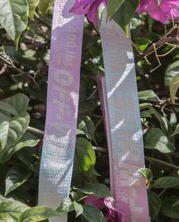 Off white SG exclusive rainbow belt