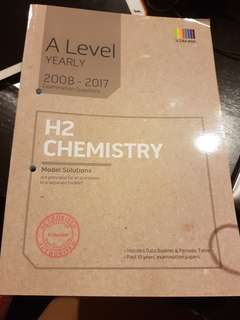A Level H2 Chemistry ten year series (no Model solutions!)