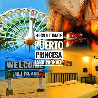 4d3n ULTIMATE PUERTO PRINCESA LAND PACKAGE