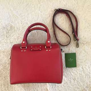 Kate spade wellesley alessa red