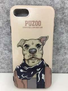 iPhone 7/8 iPhone Case Dog 狗狗 金啡色