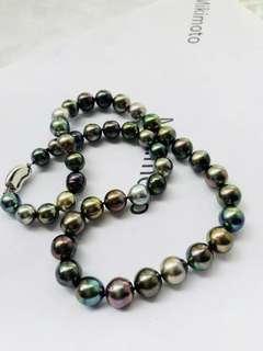 大溪地炫彩黑珍珠