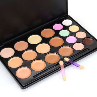 🦋POPFEEL Professional Makeup Concealer Cream Palette Contour Cosmetic With Brush🦋