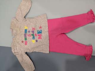 Mothercare Baby Girl Shirt & Pants