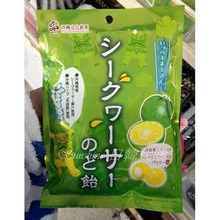 限量一包 日本 沖繩 月桃葉 金桔檸檬糖 66g