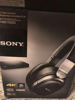 sony hw700ds無線耳機
