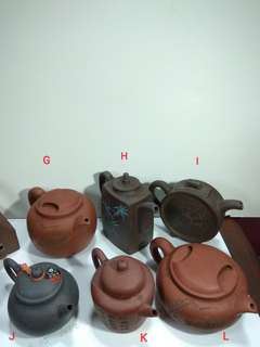 Antique Chinese Teapots