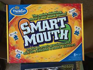 Smart mouth word game