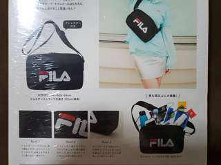 FILA sling bag - Japan Magazine