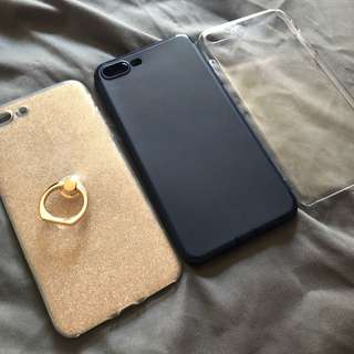 3 iPhone 7/8 Plus Case Bundle!!!