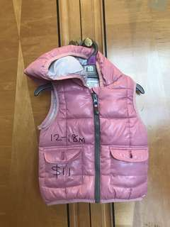 Zara winter jacket with hoody