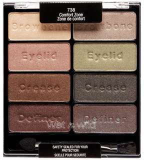 🚚 NEW Wet N Wild Comfort Zone Palette