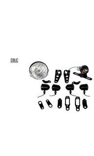 Motorbike/ Caferacer Headlight/ Lamp CLBX Pack
