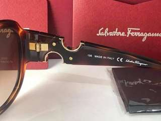 Authentic original ferragamo sunglasses