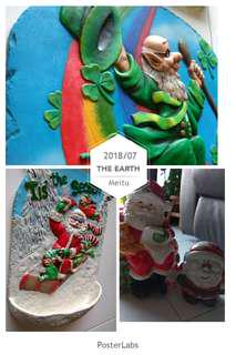 Everything Christmas HoHoHo, total 4 pcs (lot 2)