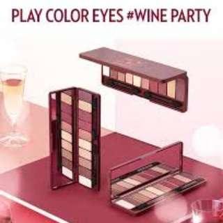 🚚 Wine Party Etude House Eyeshadow Palette