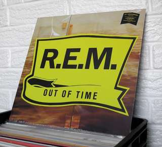 """🚚 VINYL - R.E.M. """"Out Of Time"""" (1991)"""