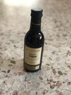 Miniature wine bottle