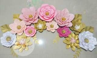 Paket paper flower 250rb