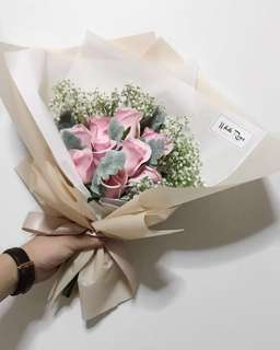 Hand bouquet | Frozen (pink)