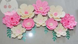 Paket paper flower 200rb